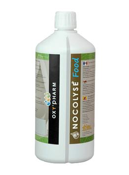 Nocolyse Food vloeistof heeft toelating sinds 23 mei 2015