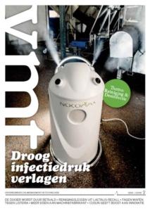 VMT 2018 door desinfecteren met de nocomax simpel desinfecteren